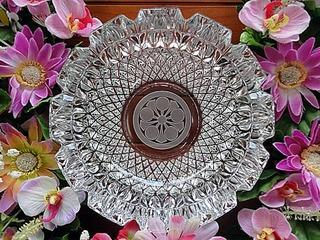 家紋を彫刻した灰皿