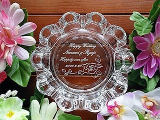 友達への結婚祝い用の灰皿